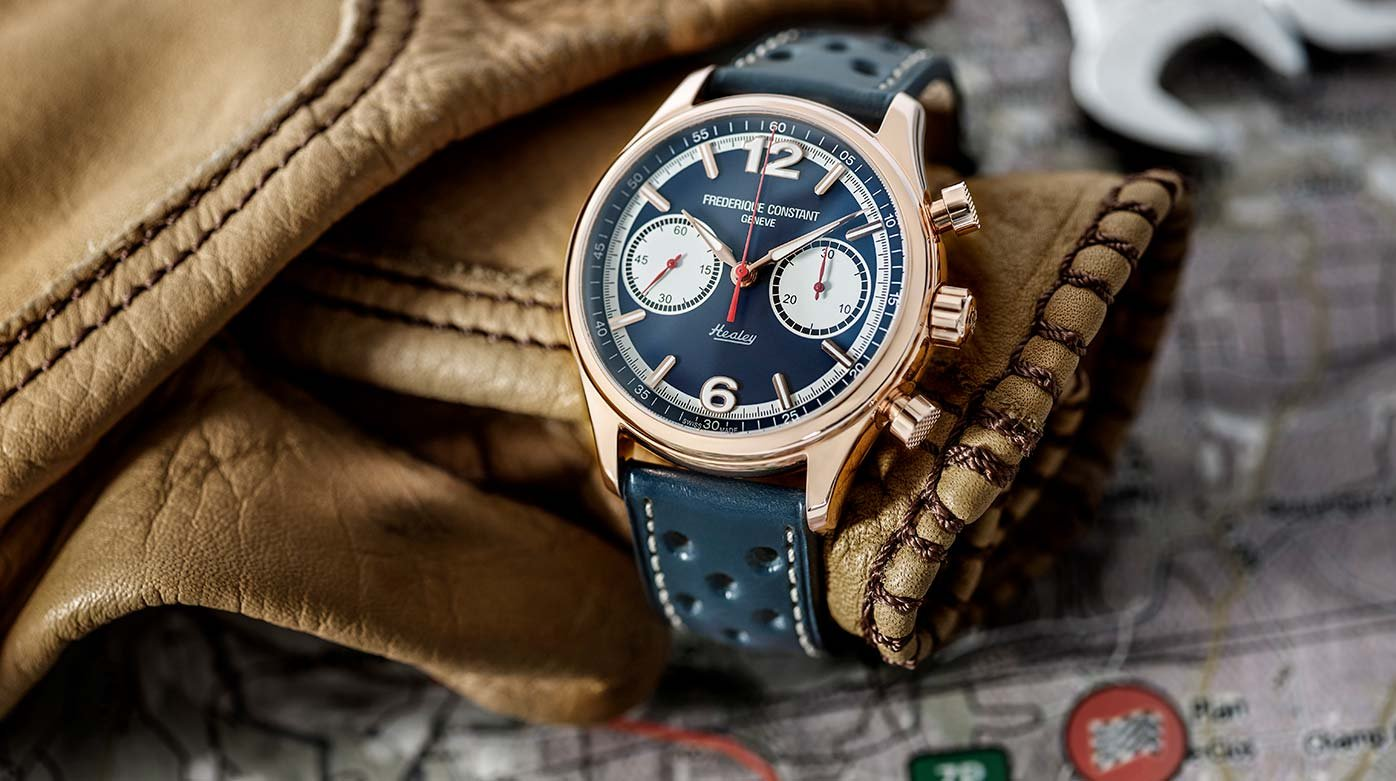 Frédérique Constant - Vintage Rally Healey Chronographe Automatique