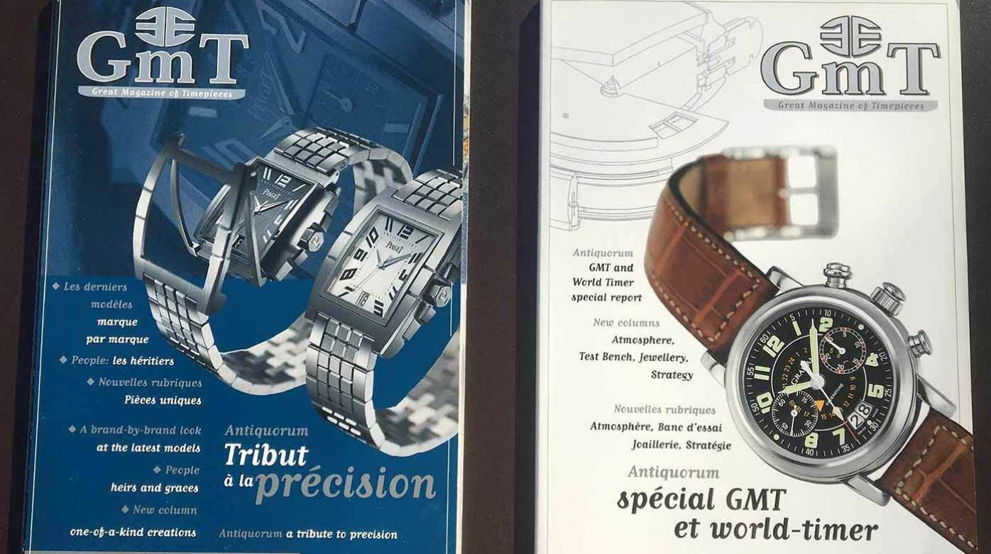 GMT Magazine - 20th anniversary*: 2001, the watchmaking odyssey