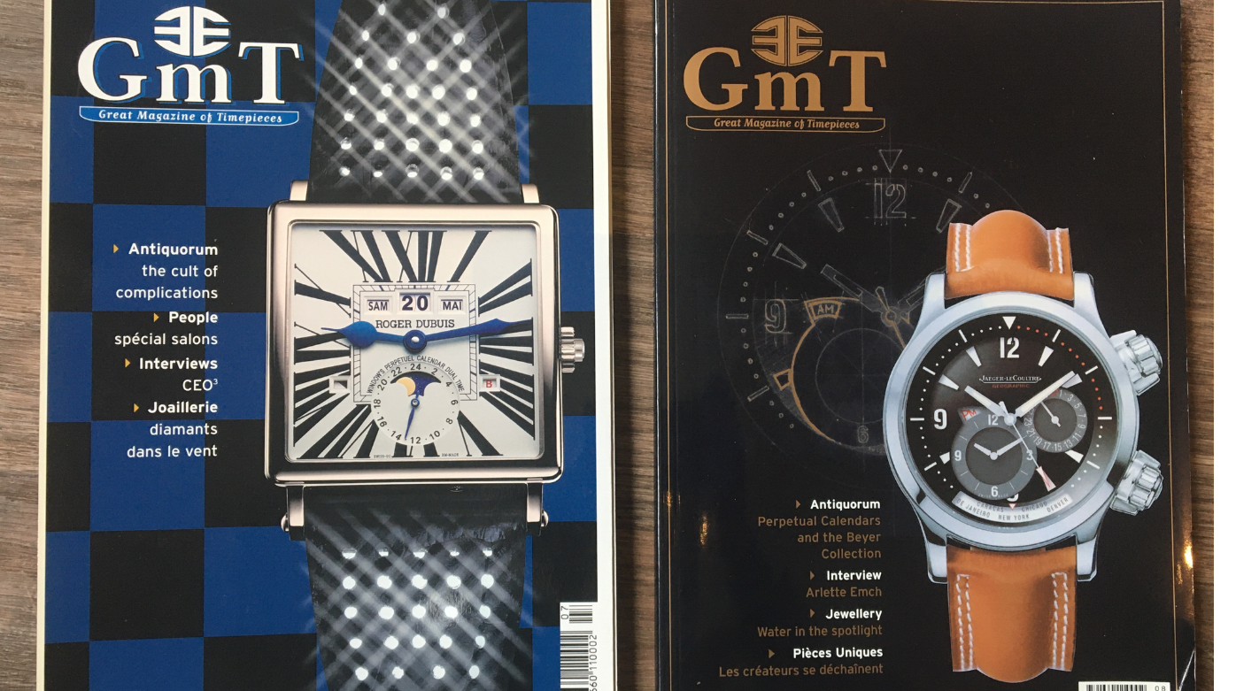 GMT Magazine - 20 years in watchmaking: 2003*