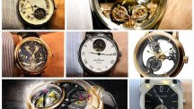 The contenders in the tourbillon category