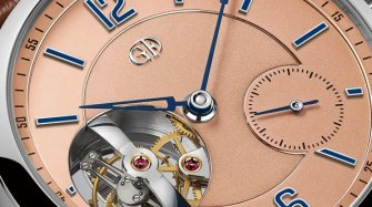 Tourbillon 24 Secondes Vision in platinum