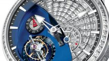 Diamond Set Tourbillon 24 Secondes Contemporain
