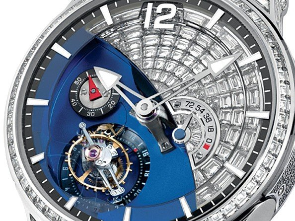 Greubel Forsey  - Diamond Set Tourbillon 24 Secondes Contemporain