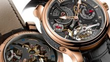 Double Tourbillon Technique 30° Bi-color