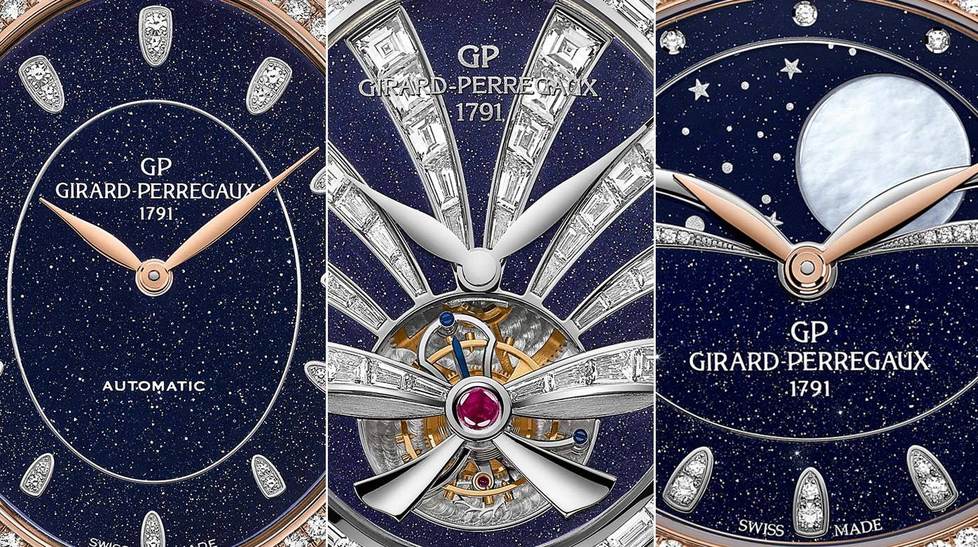Girard-Perregaux - Three new Cat's Eye watches
