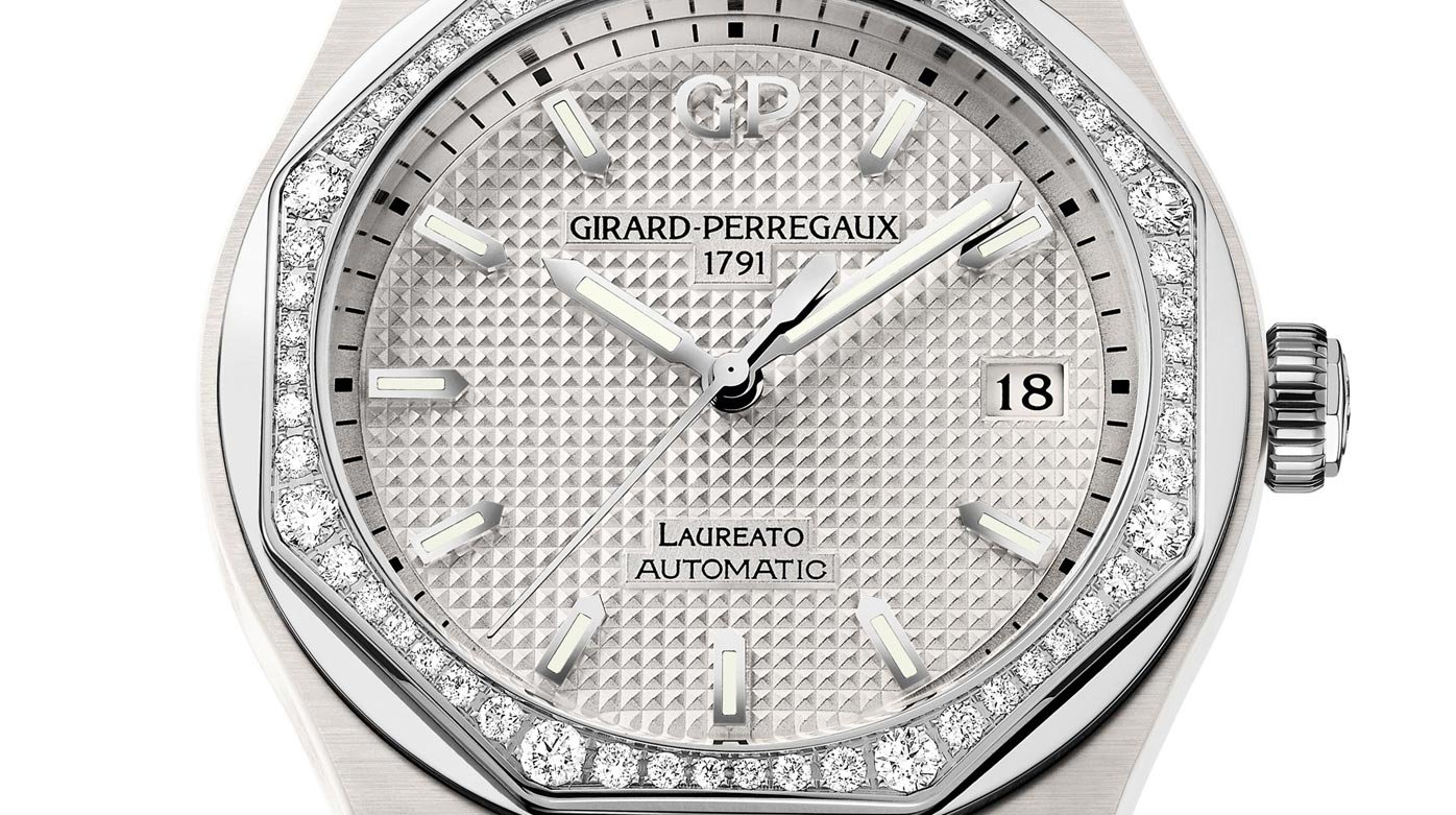 Girard-Perregaux - Laureato 38mm Ceramic White