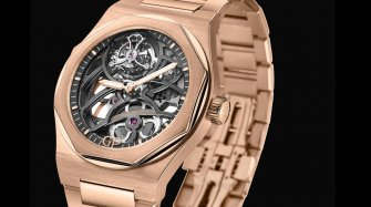 Laureato Flying Tourbillon Skeleton Style & Tendance