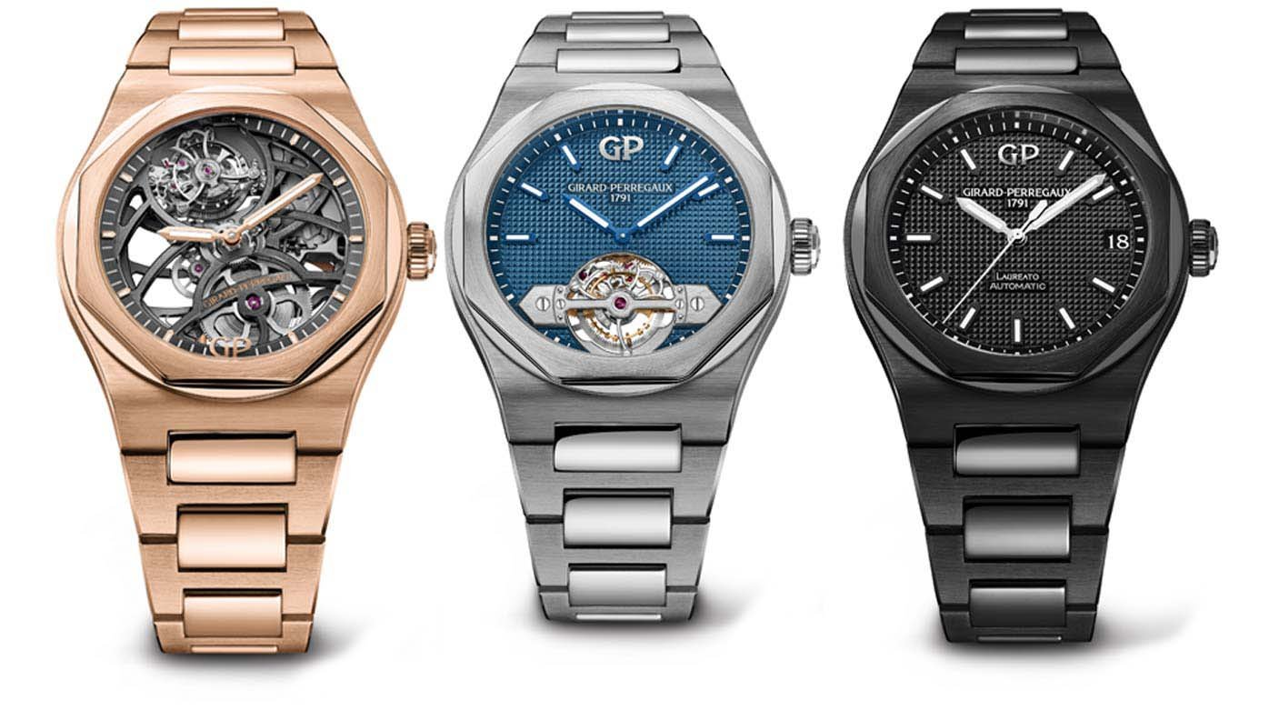 Girard-Perregaux - Back in Time :  « Laureato »