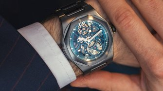 "Laureato Skeleton ""Earth to Sky"" edition Trends and style"