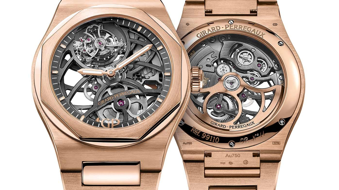 Girard-Perregaux - Laureato Flying Tourbillon Skeleton: Out of kilter and on the money
