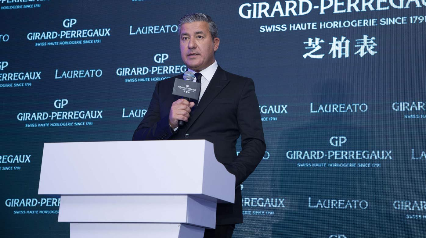 Girard-Perregaux - Laureato Launch in Shanghai