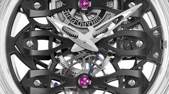 Girard-Perregaux bares all Trends and style