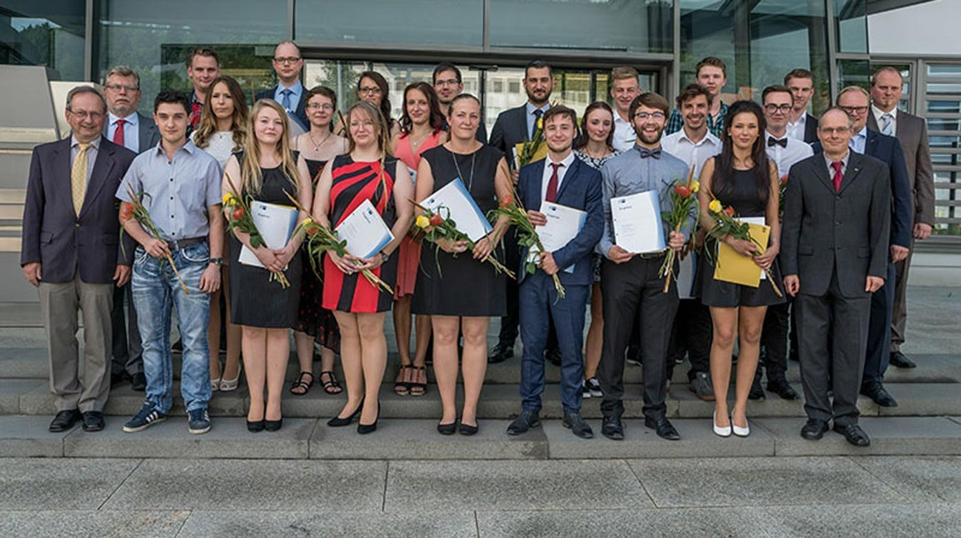 "Glashütte Original - 23 graduates of ""Alfred Helwig"" School of Watchmaking"