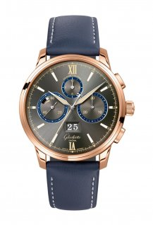 Senator Chronograph - The Capital Edition Red Gold