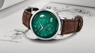 PanoMaticLunar in forest green Trends and style