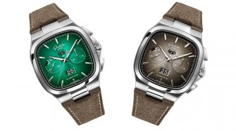 Chronograph in a fascinating colour-play Trends and style