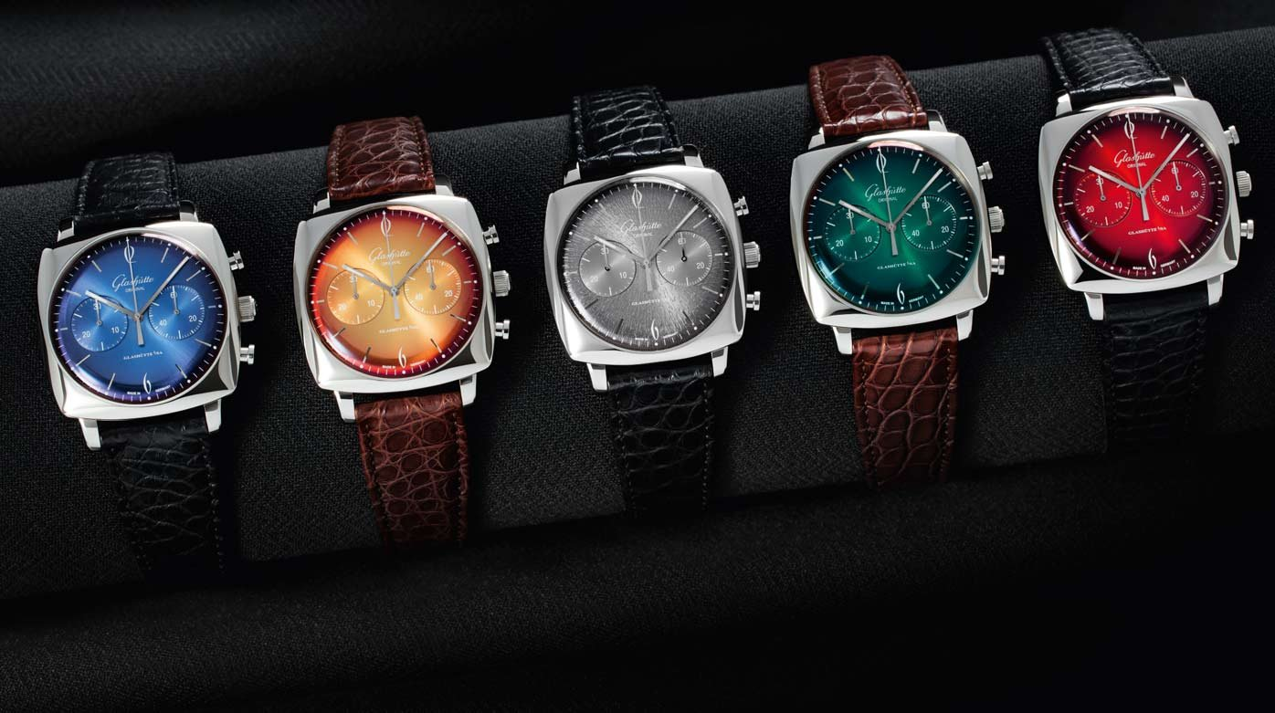 Glashütte Original - Sixties Iconic Square Collection