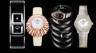 Four elegant watches. Make your choice! Trends and style