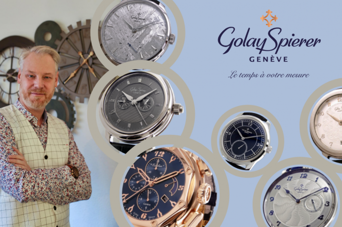 Ten Minutes With Christophe Golay: Discover The Man Behind Golay Spierer