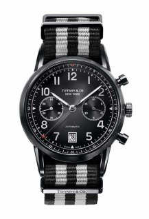 Tiffany CT60 Chronograph Black DLC