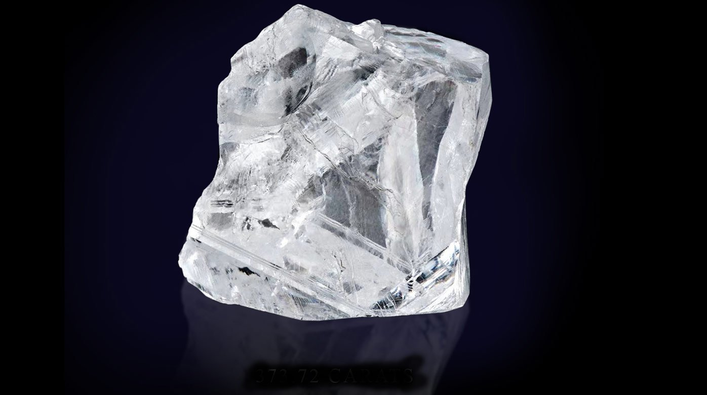 Graff - Rough diamond of 373.72 carats