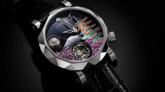 Anatomy of Graff's men's watch Brands