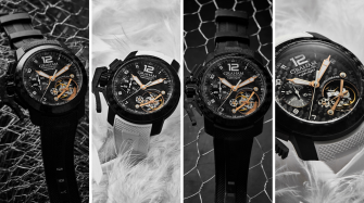 Birth announcement: Graham's first Chronofighter tourbillon Innovation and technology