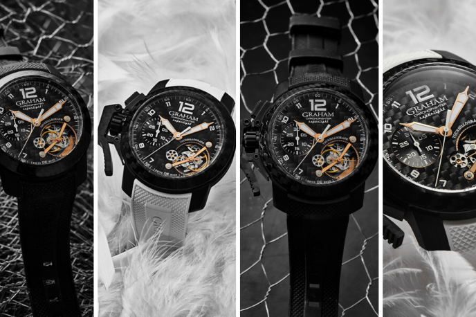 Avis de naissance : le premier tourbillon « Chronofighter » de Graham