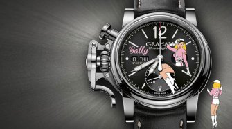 Chronofighter Vintage Nose Art Ltd Style & Tendance