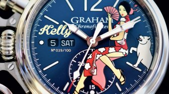 Chronofighter Vintage Nose Art Ltd – Kelly Trends and style