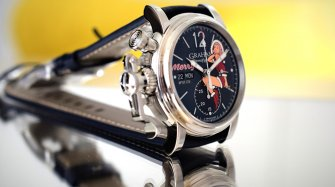 A festive Chronofighter Vintage Nose Art  Trends and style