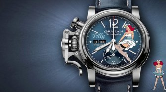 Chronofighter Vintage Nose Art Style & Tendance