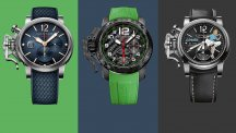 Graham in Technicolor at Baselworld