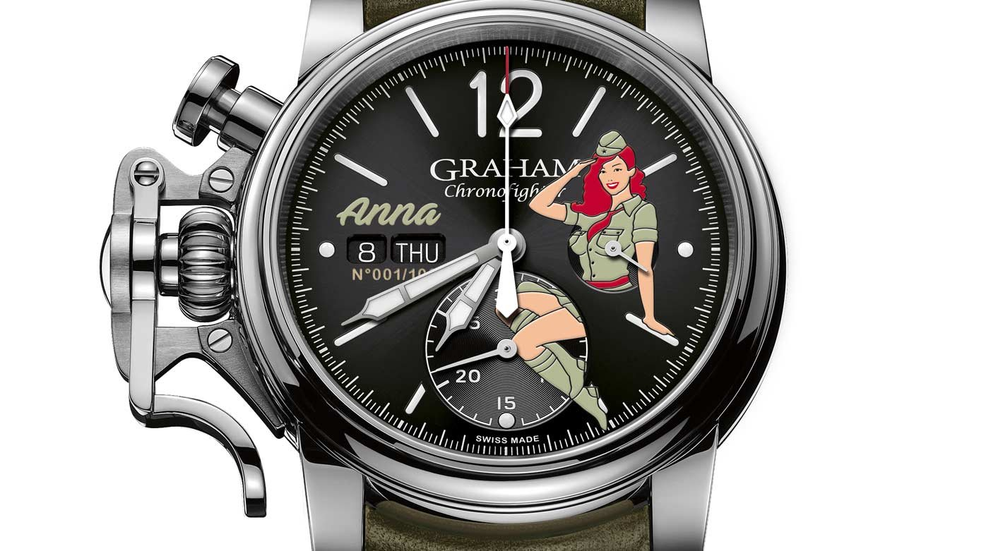 Graham - Chronofighter Vintage Nose Art watches