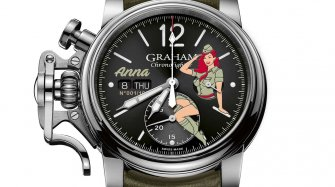 La Chronofighter Vintage Nose Art Ltd remet les pinups au goût du jour Style & Tendance