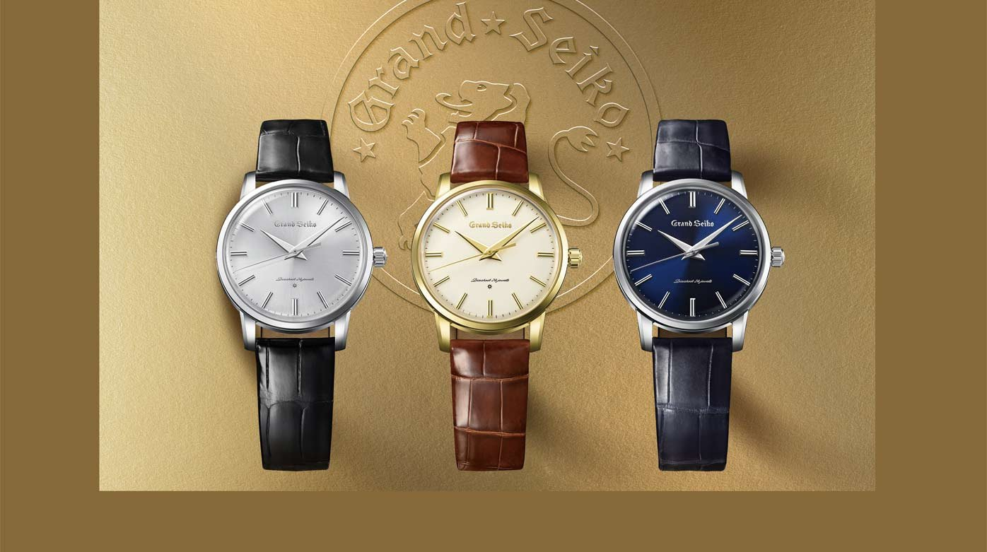 Grand Seiko - Re-creation of the first Grand Seiko watch from 1960