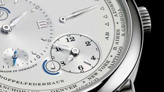 Saxonia Annual Calendar, Grande Lange 1 Moon Phase, 1815 Up/Down and Lange 1 Time Zone Trends and style