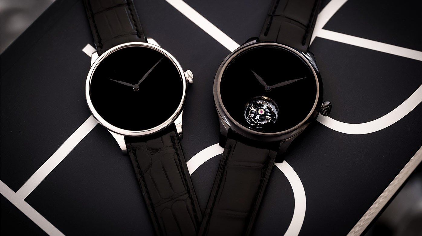 H. Moser & Cie. - Three Vantablack<sup>®</sup> editions