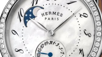 Arceau Petite Lune with diamonds