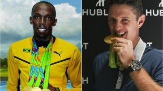 Usain Bolt & Justin Rose, gold and records Sport