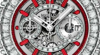 "Big Bang Unico ""10 Years"" Haute Joaillerie"