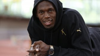 Usain Bolt and his Big Bang Unico Usain Bolt  Sport