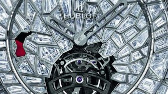 Big Bang Tourbillon Power Reserve 5 Days High Jewellery Impact Bang