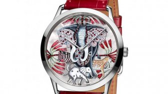 Four watches with a bestiary dial Trends and style