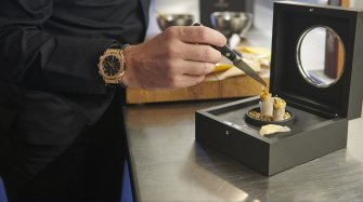 When watchmaking meets gastronomy...