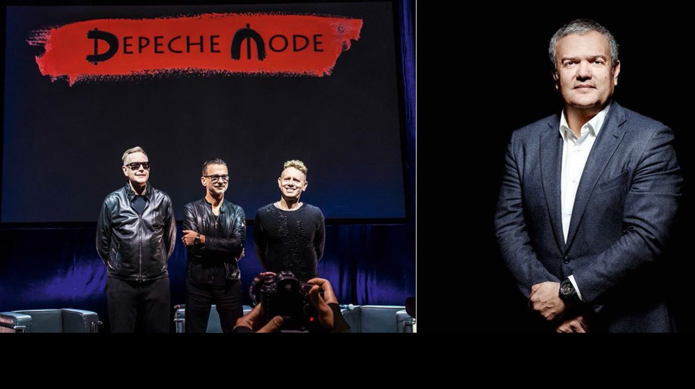 Hublot - Hublot and Depeche Mode join forces for charity