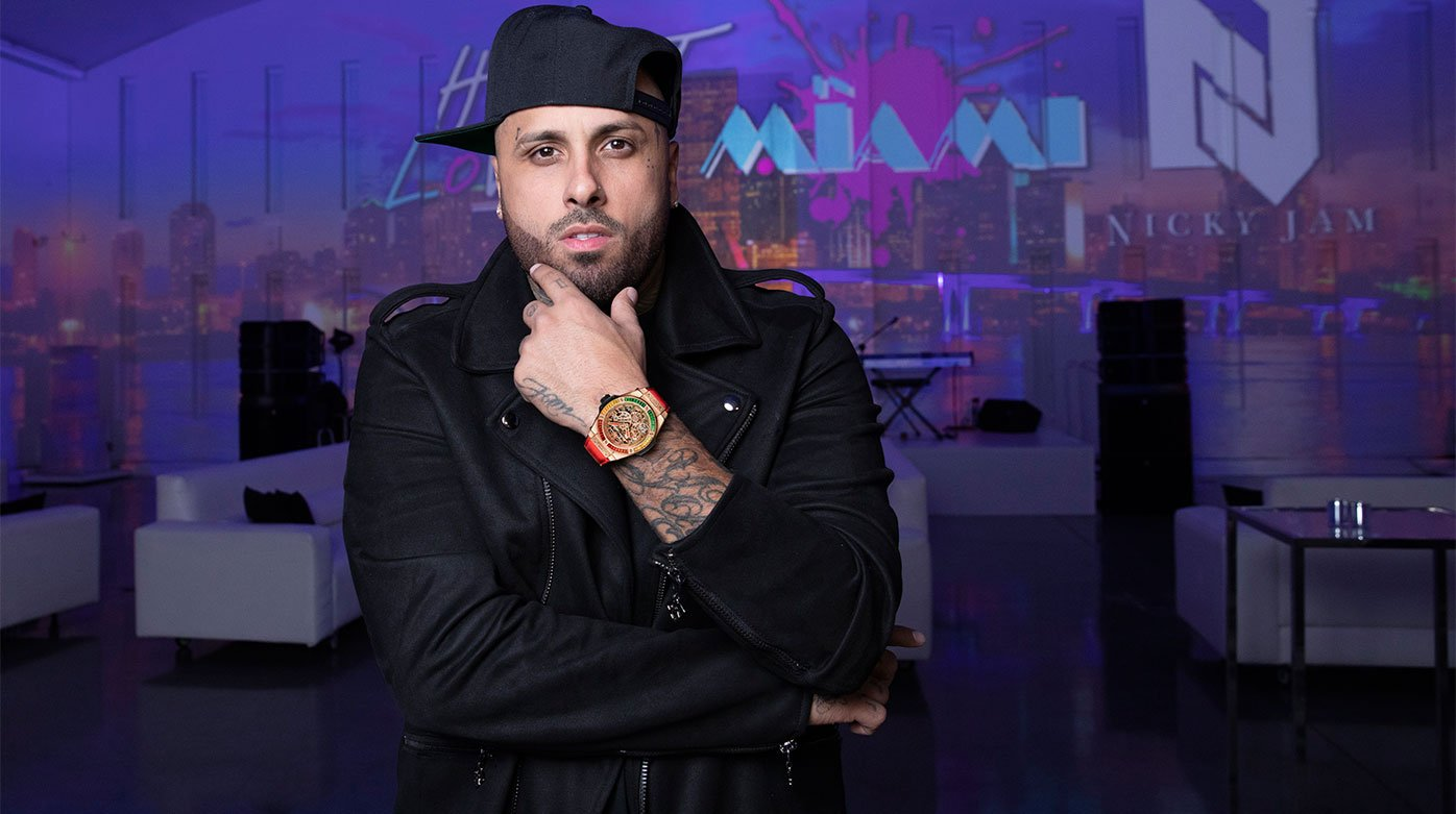 Hublot - Big Bang Meca-10 Nicky Jam