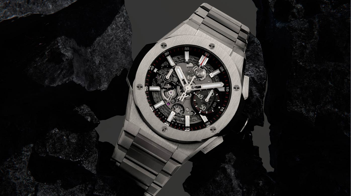 Hublot - Total look métal