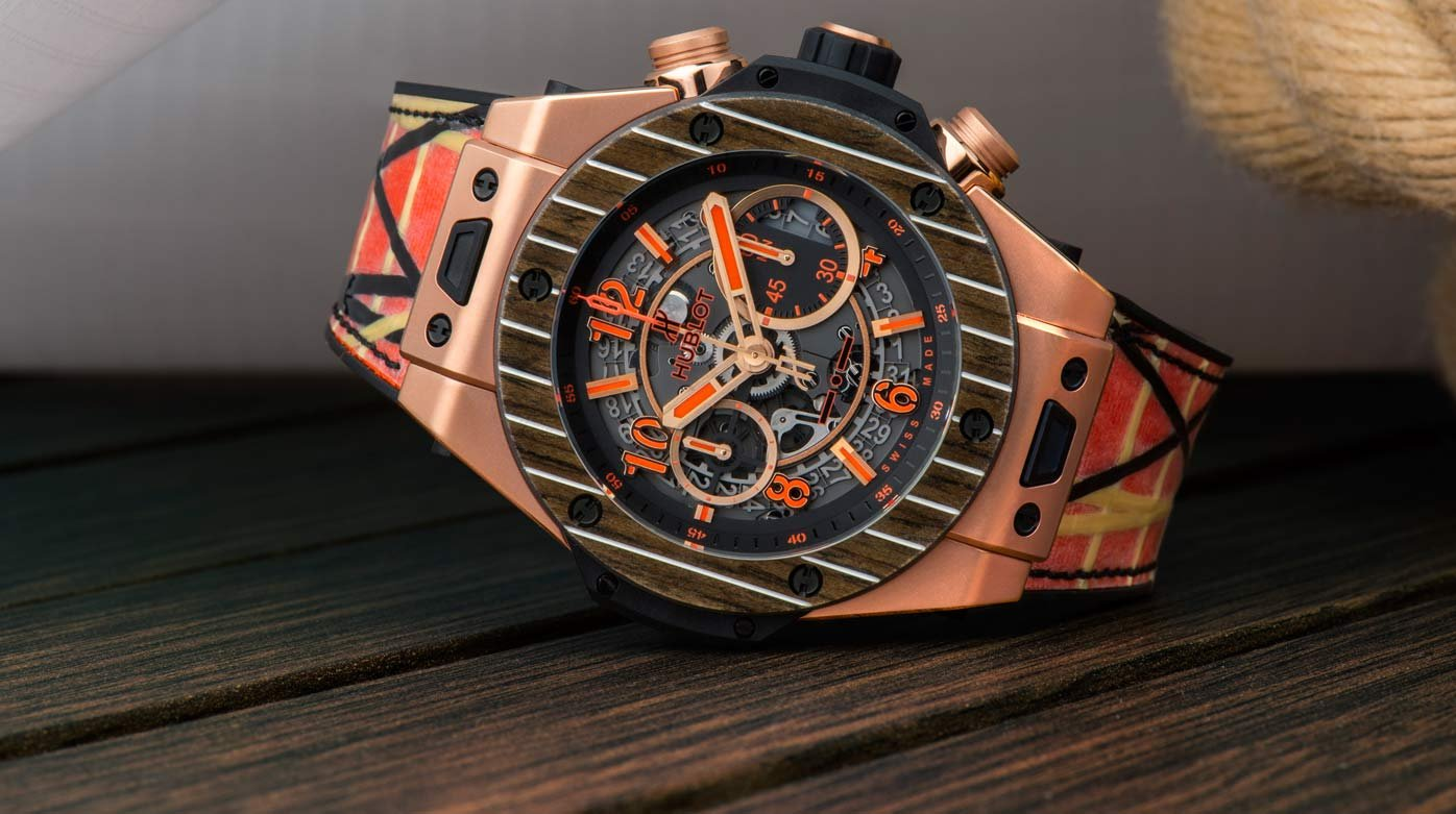Hublot - Big Bang Unico Teak Italia Independent