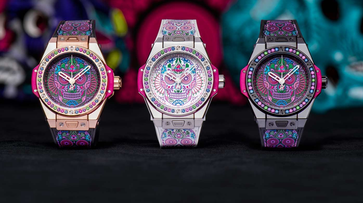 Hublot - Big Bang One Click Calavera Catrina
